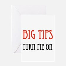 BIG TIPPER Greeting Card