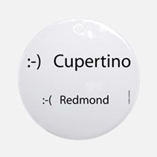 Cupertino Smiles Ornament (Round)