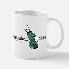 wannabe ... golfing Mug