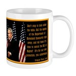 Orange Alert Bush Coffee Mug