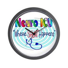 Neuro Nurse Wall Clock