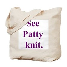 Patty Knits Tote Bag