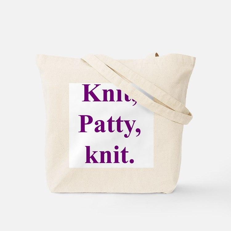 Patty Knits Tote Bag