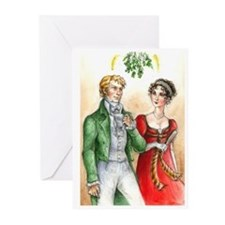 Regency Christmas card (Pack of 20)