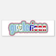 GuateRican Bumper Bumper Bumper Sticker