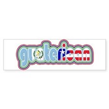 GuateRican Bumper Bumper Sticker