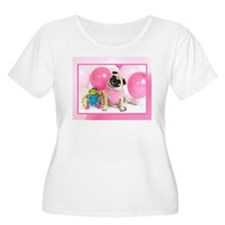 Funny Pug birthday T-Shirt