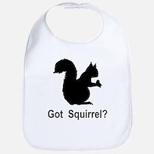 Got Squirrel Bib
