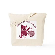 What's Knittin' Tote Bag