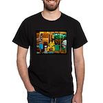Conscious Rastafarian Culture Art Dark T-Shirt