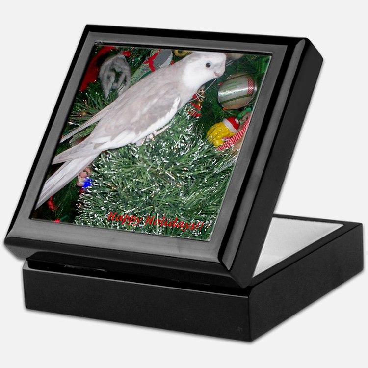 Skylar's Happy Holidays Keepsake Box