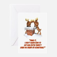 Reindeer Dilemma Greeting Card