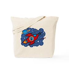 Rocket Ship 1st Birthday Tote Bag