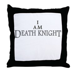 I AM DEATH KNIGHT Throw Pillow