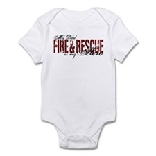Dad My Hero - Fire & Rescue Infant Bodysuit
