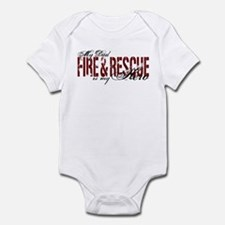 Dad My Hero - Fire & Rescue Infant Bodysuit