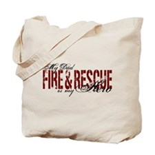Dad My Hero - Fire & Rescue Tote Bag