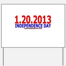 New Independence Day Yard Sign