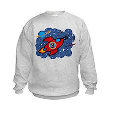 Rocket Ship 3rd Birthday Sweatshirt