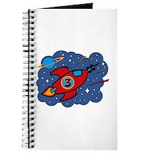 Rocket Ship 3rd Birthday Journal