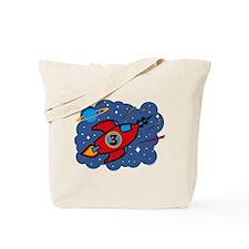 Rocket Ship 3rd Birthday Tote Bag