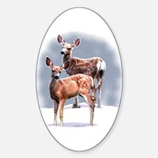 King's Fawns Oval Decal