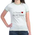 Proverbs Friends Jr. Ringer T-Shirt