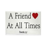 Proverbs Friends Rectangle Magnet (10 pack)