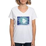 Wild Dryad Women's V-Neck T-Shirt