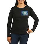 Wild Dryad Women's Long Sleeve Dark T-Shirt