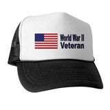 Wwii veteran Trucker Hats