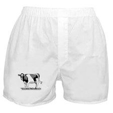 Dairy Cow Boxer Shorts