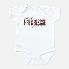 Fiance My Hero - Fire & Rescue Infant Bodysuit