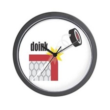 Doink: Beware Of The Puck Wall Clock