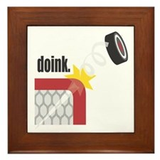 Doink: Beware Of The Puck Framed Tile