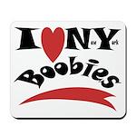 New York Boobies Mousepad