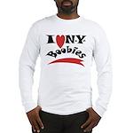 New York Boobies Long Sleeve T-Shirt