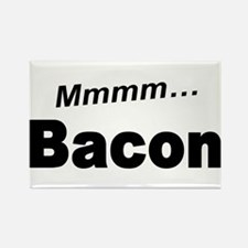 Mmmm Bacon Rectangle Magnet
