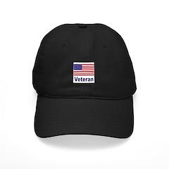 American Flag Veteran Baseball Hat