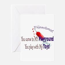 Phlebotomist Greeting Card