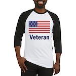 American Flag Veteran Baseball Jersey