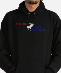 Moose for Obama '08 Hoodie