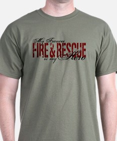 Fiancee My Hero - Fire & Rescue T-Shirt