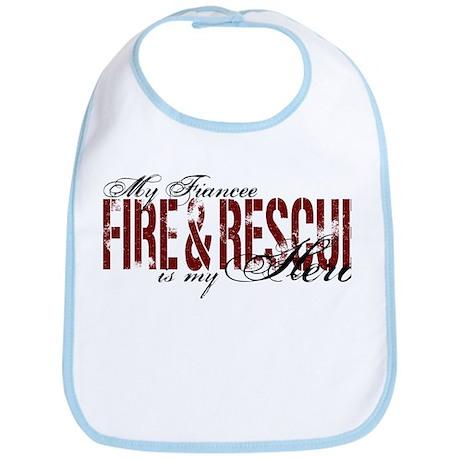 Fiancee My Hero - Fire & Rescue Bib