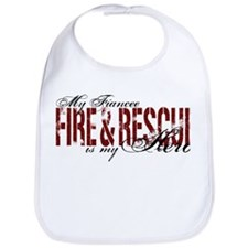 Fiancee My Hero - Fire & Rescue Bib