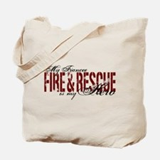 Fiancee My Hero - Fire & Rescue Tote Bag
