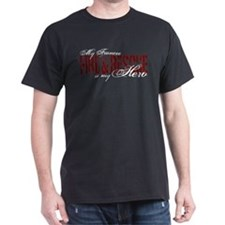 Fiancee My Hero - Fire & Rescue T-Shirt