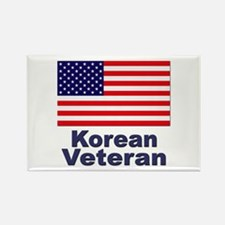 Korean Veteran Rectangle Magnet
