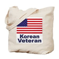 Korean Veteran Tote Bag