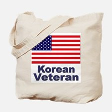 Korean Veteran Tote Bag